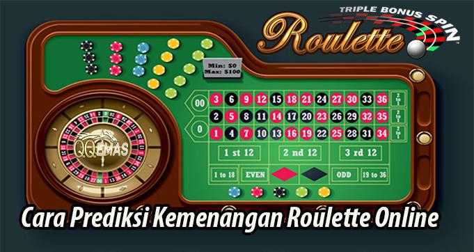 Cara Prediksi Kemenangan Roulette Online